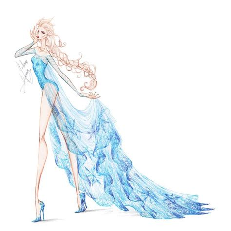 Collection Chiffon Elsa 2 by frozen winter prince on DeviantArt   image #3221611 par Fab me sur