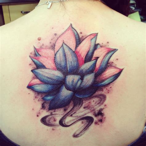 blue lotus tattoo blue lotus and pictures to pin on tattooskid