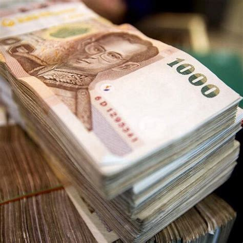 currency thb thai baht thb edging against us dollar thbusd