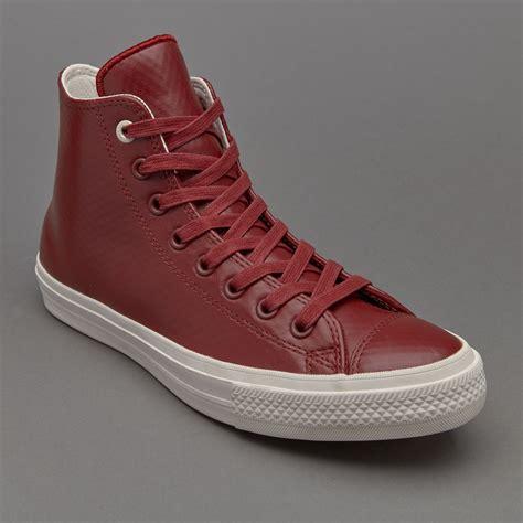 Sepatu Chuck All Ii sepatu sneakers converse chuck all ii hi mesh backed leather block