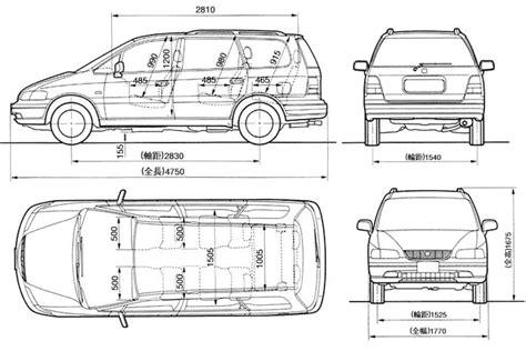 Honda Odyssey Interior Dimensions by Honda Monovolumeni 7 Sjedala Suv Honda Club Forum