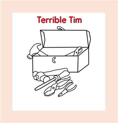 terrible tim book values and manners theme unit