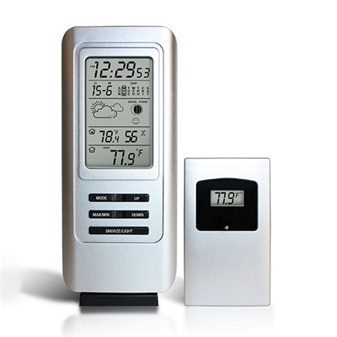 wireless indoor outdoor weather station
