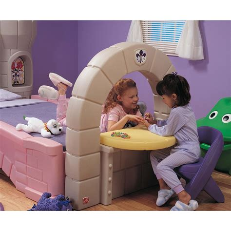 step 2 beds step 2 174 dream castle convertible bed 172379 kid s