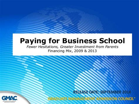 How To Pay For Mba School by Paying For Business School