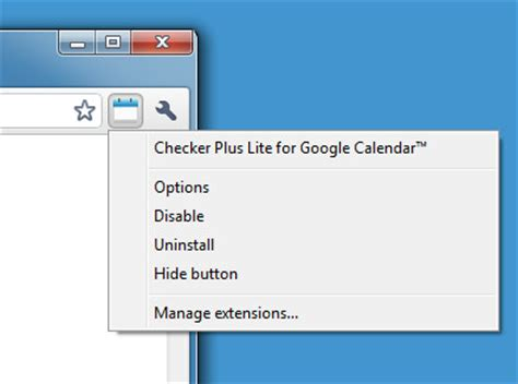 get calendar events notifications on desktop chrome