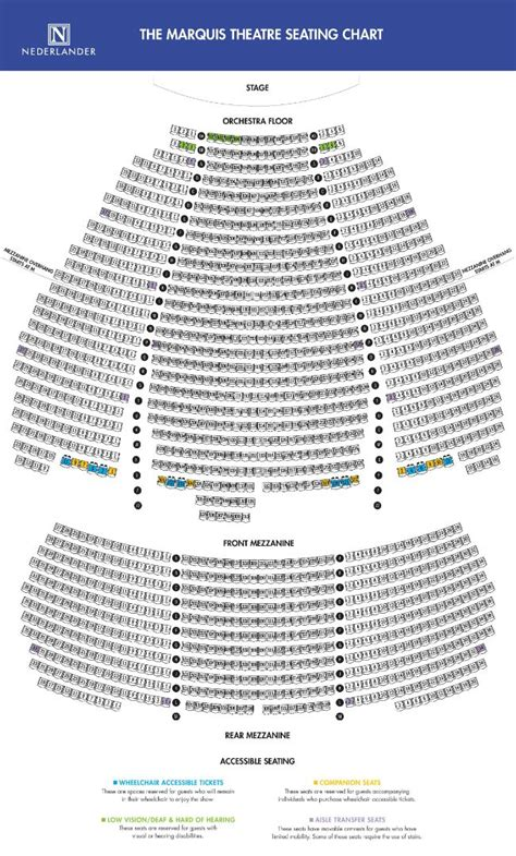 marquis theatre seating map marquis theatre seating map nyc broadway