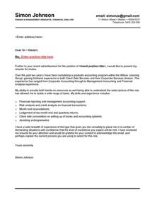 Graduate Covering Letter by Finance Graduate Cover Letter