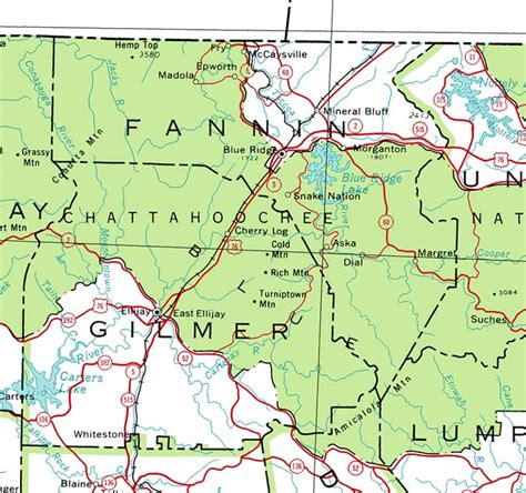 fannin county texas map county of fannin georgiainfo