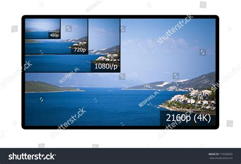 4k comparison 4k television display with comparison of resolutions