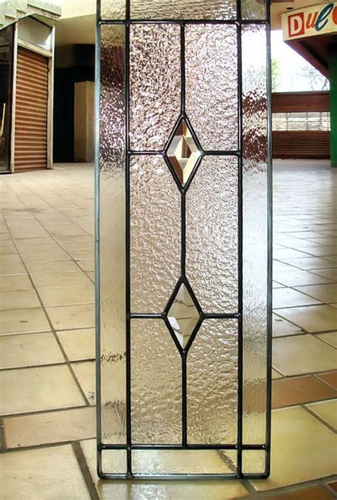 Glass For Cabinet Doors Inserts This Six Lite Grid Cabinet Glass Insert With A Textured Background And Clear Outer Border