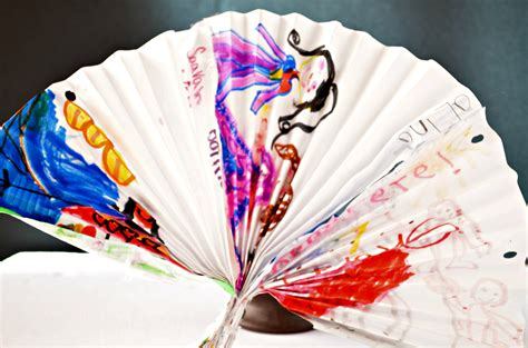 New Paper Craft - make a decorative fan paper craft for