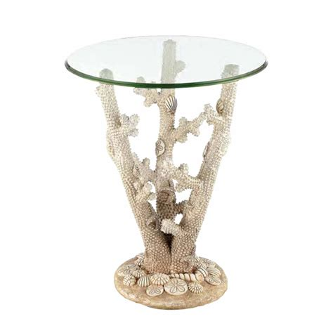 coral reef accent chair accent table