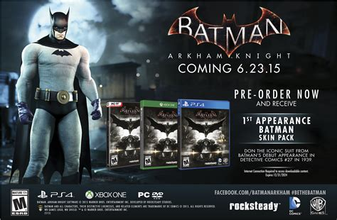 One All Series Bonus batman arkham preorder bonuses gamespot