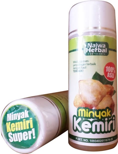 Minyak Herbal Kemiri minyak kemiri murni dan asli najwa herbal sarana muslim