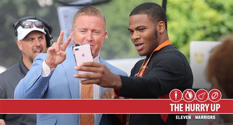kirk herbstedt haircut styles the hurry up ohio state and five star defensive end micah