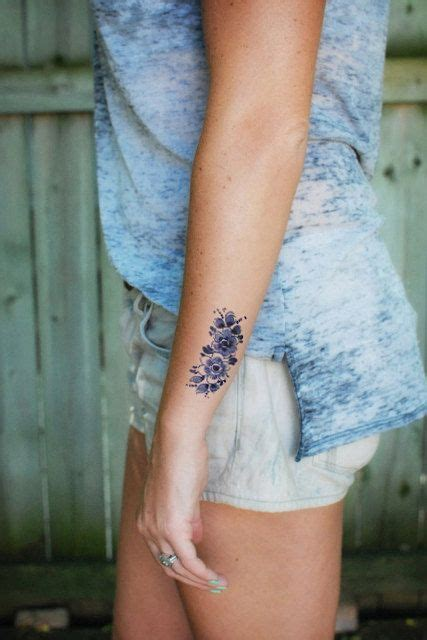 dutch tattoos delft blue temporary temporary