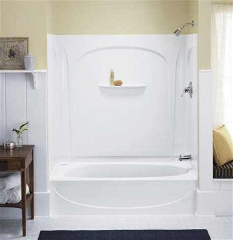 sterling bath shower sterling kohler 71090120 0 white series 7109 acclaim tub shower phwarehouse