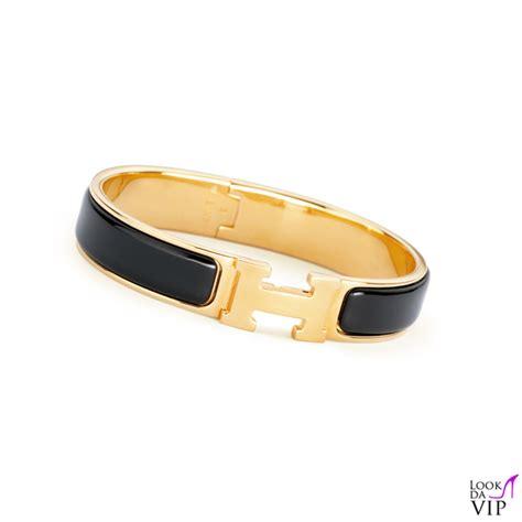 braccialetto Hermes Clic H   Look da Vip