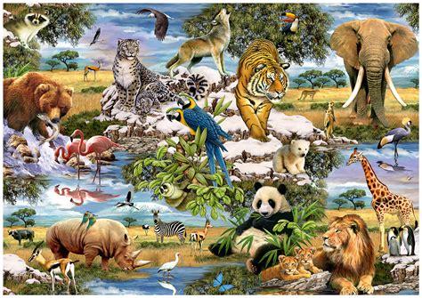 Puzzle Animal comprar puzzle trefl animales mundo de 1000 piezas ref