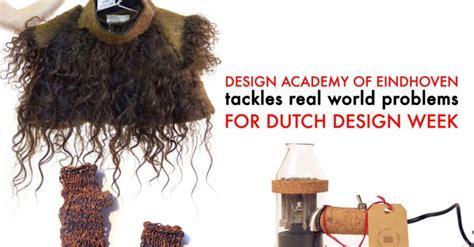 design academy eindhoven world ranking design academy of eindhoven tackles real world problems