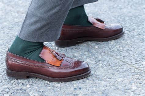 two tone tassel loafers pitti uomo 91 style details gentleman s