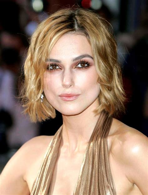 short bob hairstyles keira knightley celebrity short curly bob hairstyle keira knightley