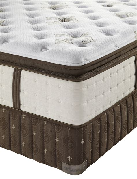stearns foster signature coningsby luxury plush euro pillowtop mattress