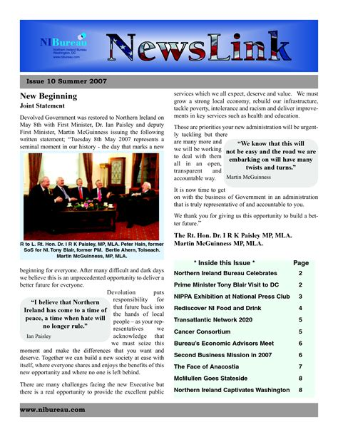 microsoft word free newsletter templates 5 best images of free printable newsletter templates