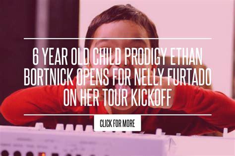 6 Year Child Prodigy Ethan Bortnick Opens For Nelly Furtado On Tour Kickoff by 6 Year Child Prodigy Ethan Bortnick Opens For Nelly