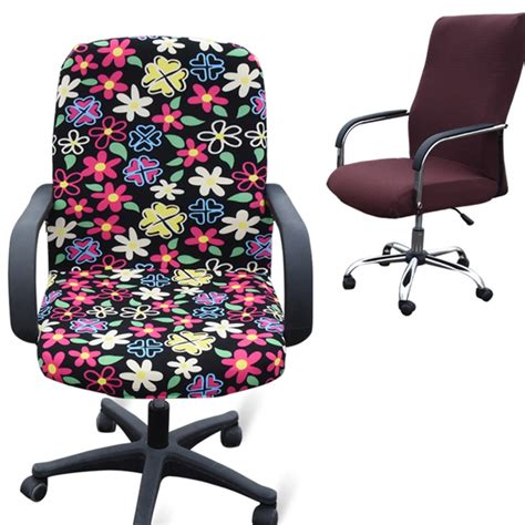 Office Desk Chair Covers by Office Computer Chair Covers Chair Cover Armrest Seat