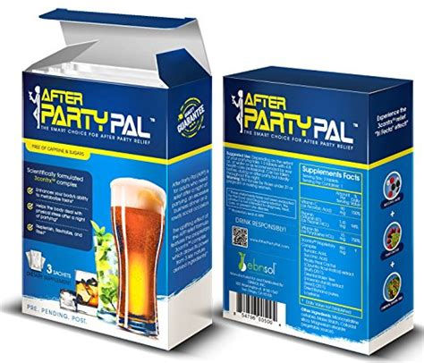 Hangover Detox Day by Afterpartypal Hangover Relief Hangover