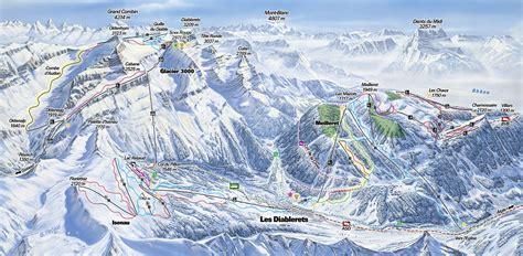 Plan View by Villars Gryon Les Diablerets Glacier 3000 Bex