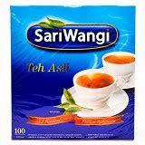 Teh Sariwangi Isi 100 jual makanan kebutuhan harian daftar harga dan spesifikasi price and specification list