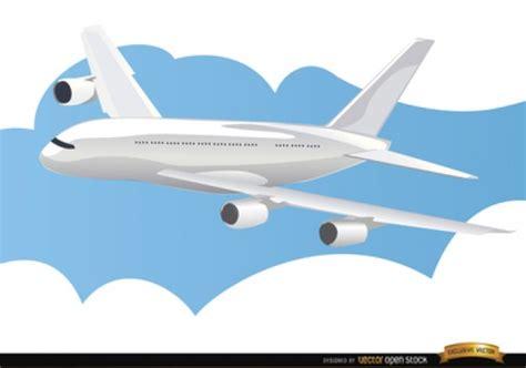 imagenes sin fondo de aviones avi 243 n volando sobre las nubes descargar vectores gratis
