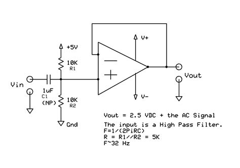 capacitor dc offset capacitor remove dc offset 28 images op how to lify a small ac no dc offset wave with an op