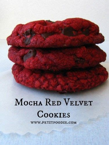 13 Ingredients And Directions Of Chocolate Velvet Pie Receipt by Mocha Velvet Cookies Recipe Velvet Velvet