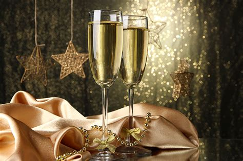 food and wine new year pictures new year two wine sparkling wine food stemware