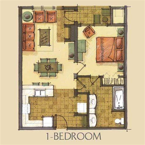 1 bedroom condo floor plans 287 best images about small space floor plans on pinterest