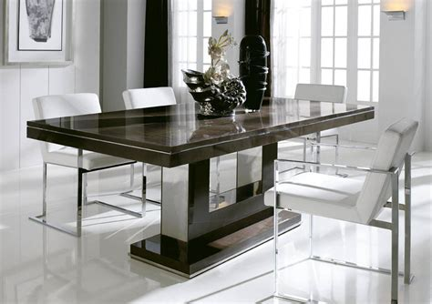 contemporary kitchen table chairs modern dining table dining room