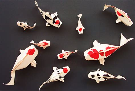 Origami Creatures - incredibly like origami paper sculptures of animals