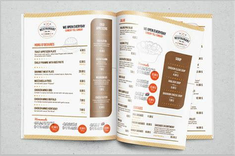 27 Indesign Menu Templates Free Premium Templates Indesign Restaurant Menu Template