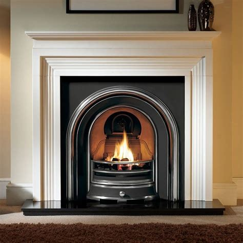 The Fireplaces by Gallery Evesham Agean Limestone Surround Stanningley