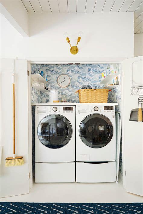 closet laundry laundry closet makeover emily henderson