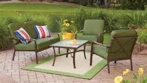 patio conversation sets 300 mainstays crossman cushions walmart replacement cushions
