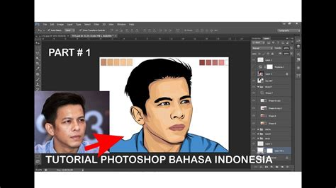 tutorial edit foto dengan photoshop menjadi kartun tutorial vector dengan photoshop cs6 tutorial photoshop