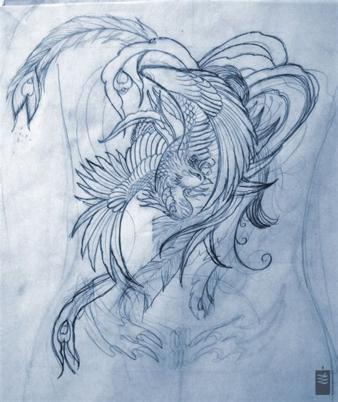 tattoo back piece designs painting japanese back