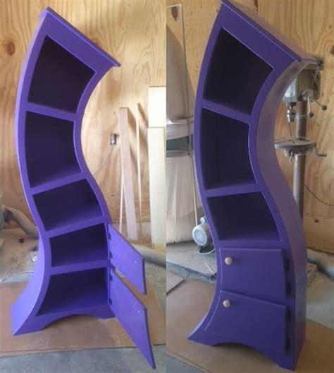 Handmade Bookshelves - handmade curved wooden bookshelves the green