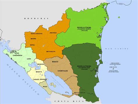 imagenes satelitales nicaragua mapa de nicaragua online world map