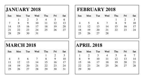 printable calendar january february march 2018 march april 2018 calendar printable template